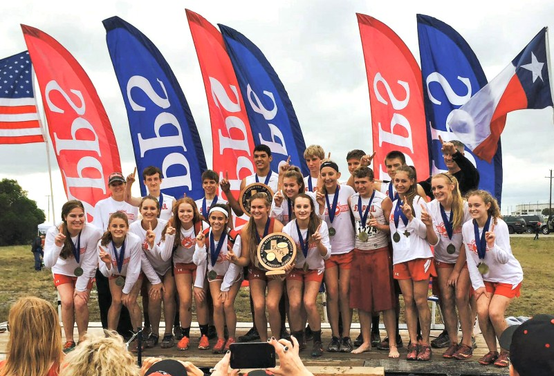 St. Paul Cardinals -  2015 TAPPS 2A Boys & Girls State Cross Country Champions
